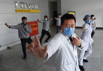 医療チーム、企業の操業再開を支援 山東省青島市