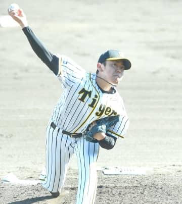 阪神・ドラ6小川 シート登板で無安打投球