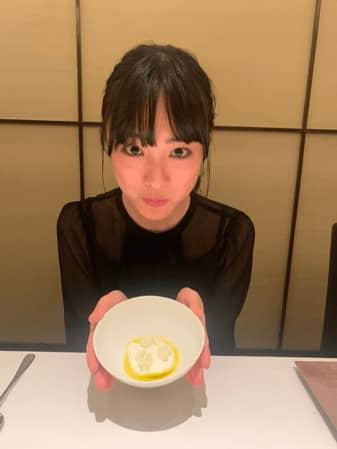 大友花恋「グラメ」料理監修の三ツ星フレンチに感激!