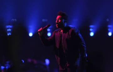 Singer The Weeknd will return to the Prudential Center in Newark, New Jersey for the first time since 2017. (Matt Smith | For NJ Advance Media) NJ Advance Media (Matt Smith/)