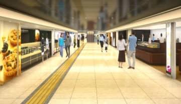 JR東日本、東京駅北通路に「グランスタ東京」を6月17日開業 新改札口や待合空間も整備