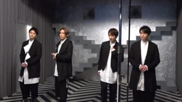 横尾渉、宮田俊哉、二階堂高嗣、千賀健永が挑んだ初主演舞台に密着!