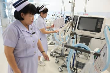 Medical services are offered at a private hospital in Bangkok. WICHAN CHAROENKIATPAKUL