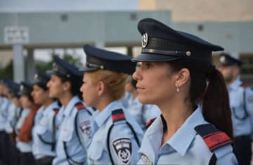 US police delegation in Israel for joint counter-terror consultations ahead of Sept.11 anniversary (photo credit: ISRAEL POLICE)