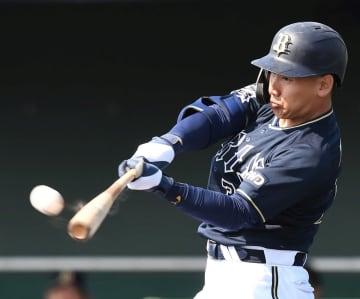 オリックス・吉田正、山岡から豪快2ラン「1球で仕留められた」