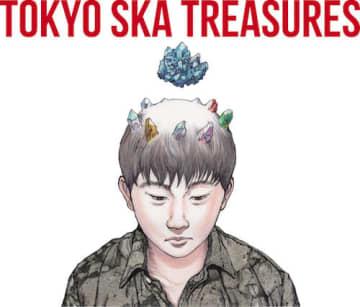 大友克洋がスカパラ、ベストアルバムのジャケットを描き下ろし!