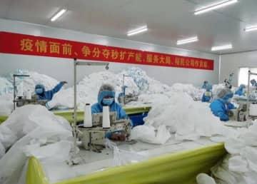 湖北省仙桃市で医療用防護服が日産3万枚に、新型肺炎と闘いながら医療用物資を提供―中国