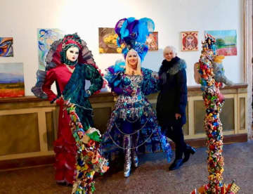 National artists join Venice Carnival