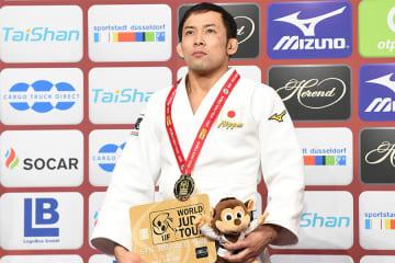 金メダルを獲得した髙藤直寿 Photo:Itaru Chiba