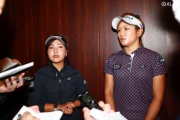 青木瀬令奈と成田美寿々が無観客試合やファンサービスについて口を開いた(撮影:福田文平)