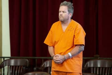 Thomas Wilkie during a June 2019 court appearance. (Aristide Economopoulos | NJ Adva                    /)