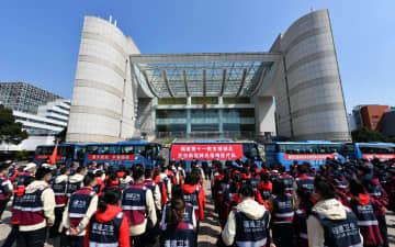 福建省、湖北省へ第11陣の医療チーム派遣