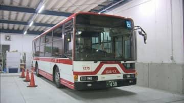 路線バスがトラックに衝突、乗客の女児(1)がけが 岡崎市