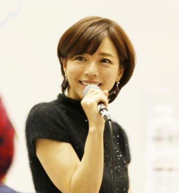 イベントに登壇した釈由美子さん
