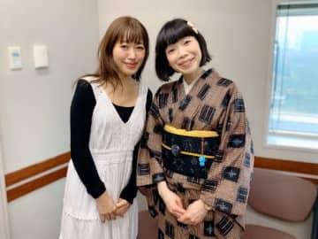 (左から)坂本美雨、水田わさびさん