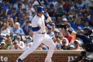 """昨季MLBの""""死球王""""だったカブスのアンソニー・リゾ【写真:Getty Images】"""