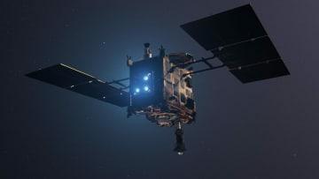 小惑星探査機「はやぶさ2」の想像図(Credit: DLR)