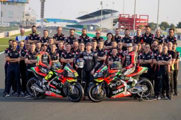 MotoGP:アプリリア、RS-GPをカタールでアンベイル。大型改良された2020年型で表彰台狙う