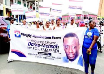 WR Minister File Nomination For Takoradi