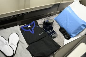 ユナイテッド航空、東京/成田〜シカゴ線で新機内サービス試験提供 エコノミーでもアメニティ提供 画像