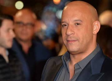 LONDON, ENGLAND - OCTOBER 19: Vin Diesel attends the UK Premiere of 'The Last Witch Hunter' at Empire Leicester Square on October 19, 2015 in London, England. (Photo by Anthony Harvey/Getty Images)