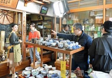 篠原哲雄監督が沼田でロケ 自主製作映画「お茶をつぐ」