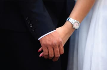 Marriage process (photo credit: REUTERS)