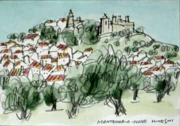 1998. モンテモール・オ・ノヴォ城とオリーブ園