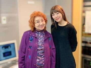 (左から)野沢雅子さん、坂本美雨