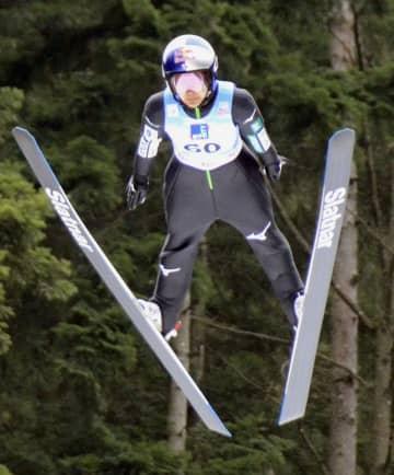 スキージャンプ、高梨は5位