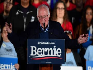 Sanders cements Democrat front-runner status after Nevada caucuses victory