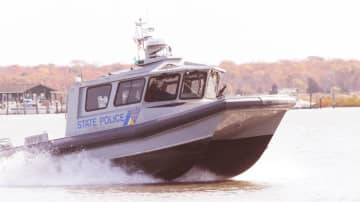New Jersey State Police rescued two kayakers off the coast in Barnegat Bay Wednesday. (Cindy Hepner/)(NJ.com/)