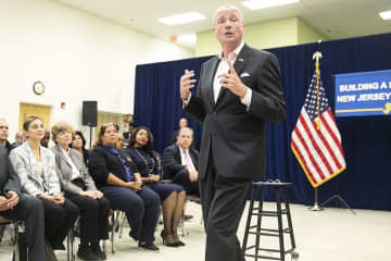 Gov. Phil Murphy is pictured last year in Union Township. (Aristide Economopoulos   NJ Advance Media for NJ.com/)