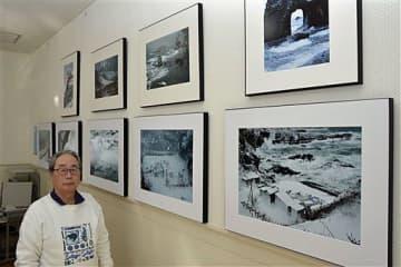 今別の冬の風景を撮影した福田さん