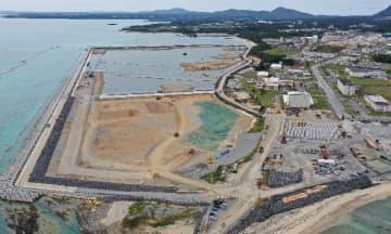 辺野古県民投票から1年 政府、民意無視し工事続行 膨らむ工費と工期