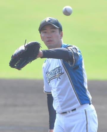 3回で3失点した日本ハム・斎藤佑樹