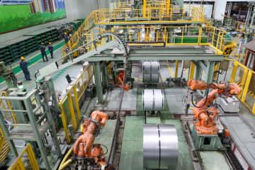 中国製造業企業上位500社、生産能力の平均利用率およそ6割に