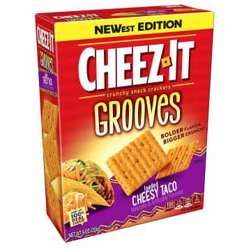 Cheez-It Grooves Loaded Cheesy Taco flavor. - Kellogg's/TNS/TNS