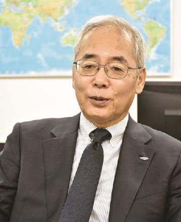 北海道の事業強化について話す山村社長
