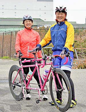 共に東京パラリンピック出場を目指す菊池さん(右)と円尾選手
