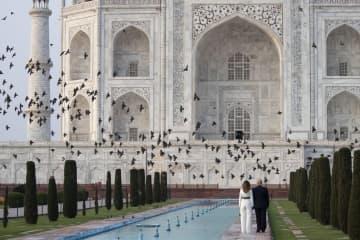 트럼프 대통령, 인도 첫 방문