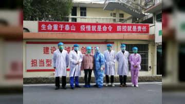 赤ちゃんの名は「安心」 新型肺炎に感染した妊婦が退院 江西省