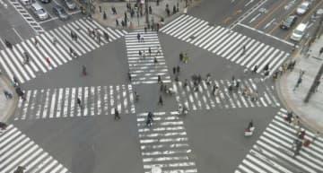 外国人の割合は日本の人口の割合でみれば約2%。50人に1人は外国人だ