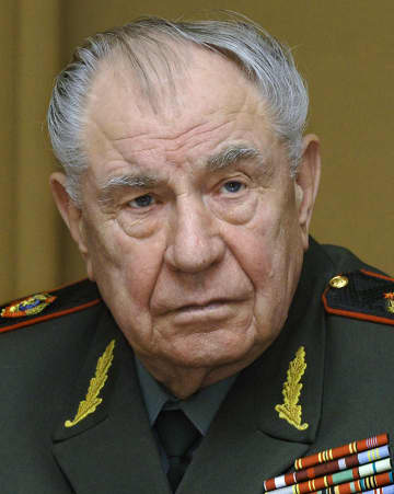 旧ソ連国防相のD・ヤゾフ氏死去