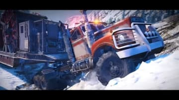 悪路ドライブ『SnowRunner』多数の困難極まる挑戦を予感させる「荒野を征せよ」新トレイラー公開