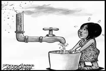 EDITORIAL – Water conservation