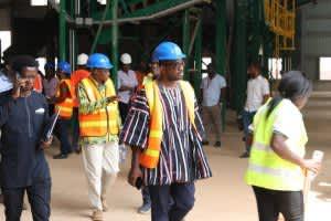 Kumasi Compost Plant Hosts MPs