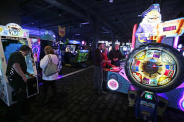 Among the activities at Dave & Buster's are bowling, billiards, video games and virtual reality experiences. (Andrew Miller   For NJ Advance) (Andrew Miller*/)