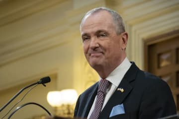 Gov. Phil Murphy delivers his third state budget address at the Statehouse in Trenton on Tuesday. (Michael Mancuso   NJ Advance Media for NJ.com/)