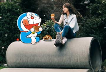 「あったらいいな♪」を叶えてくれるドラえもんと泉里香が人気ファッション企画で異色のコラボ!